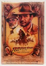 "Indiana Jones Last Crusade Magnet 2""x3"" Refrigerator Locker Movie Poster #1"