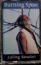 Burning Spear:  Calling Rastafari  (Cassette, 1999, Heartbeat) NEW