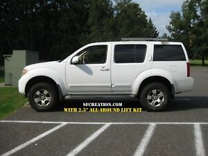 "For Nissan Pathfinder 2.5"" Lift Kit (R51 Platform - 2005-2012)"
