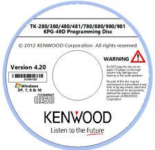 Kenwood KPG-49D Software Version 4.20 for TK-280/380/480/481/780/880/980/981