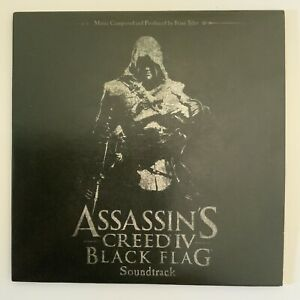 SOUNDTRACK ONLY Assassins Creed IV Black Flag Chest Collectors Edition MINT