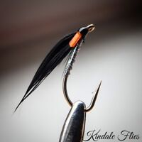 Holographic Cormorant / Orange Cheeks Size 12 (Set of 3) Fly Fishing Flies Fry