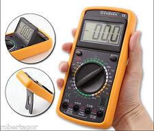 MULTIMETRO DIGITALE TESTER PROFESSIONALE DT 9205A DT 9205A+ CON CAVI e GUSCIO -