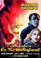 On The waterfront Brando  vintage movie poster print #31