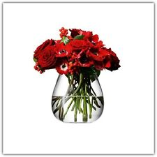 LSA Flower Table Bouquet 17cm Vase- Clear
