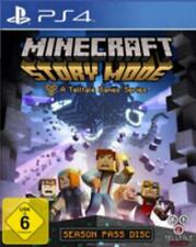 PlayStation 4 Minecraft STORY MODE Episode 1 - 5 * Neuwertig