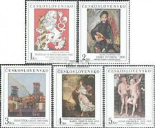 Czechoslovakia 2889-2893 (complete issue) unmounted mint / never hinged 1986 Art