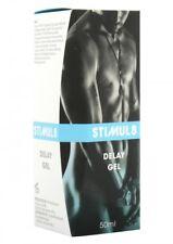 STIMUL8 DELAY GEL POWER to LAST LONGER Sex Aid Penis Cream 50ml MEN