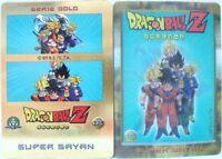 """Dragon Ball Z  """"Super Sayan special"""" Giochi Preziosi serie GOLD n°12 lenticolare"""