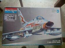 MAQUETA AVIÓN 1/48   F-100 D SUPERSABRE (MONOGRAM #5471)