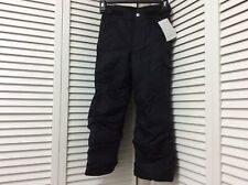 Nwt Columbia girls 6x winter snow pants black waterproof Adjustable