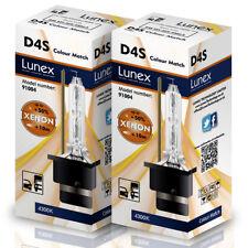 2 x D4S LUNEX XENON 4300K LÁMPARAS BOMBILLA compatible con PHILIPS , OSRAM , GE