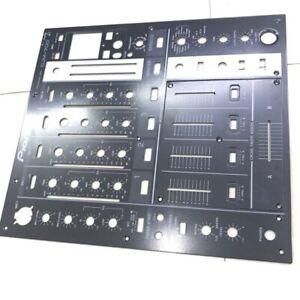DJM700 DJM-700 Metal Control Panel Black Faceplate For Pioneer DNB1153 DNB1155