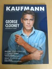 Danish magazine GEORGE CLOONEY Cover STEVE JOBS MARILYN MONROE BL97