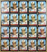 Cal Ripken Jr 1987 Donruss #89 Baltimore Orioles 20ct Card Lot.