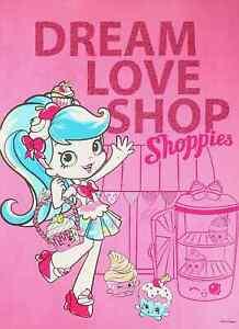 """Dream Love Shop - Jessicake - Shopkins Shoppies Mini Poster 8"""" x 11"""""""