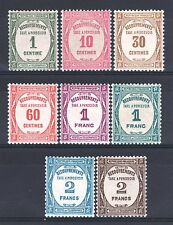 "FRANCE STAMP TAXE 55 / 62 "" SERIE 8 TIMBRES "" NEUFS xx LUXE   P454"