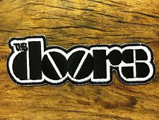 PUNK ROCK HEAVY METAL MUSIC SEW ON / IRON ON PATCH THE DOORS JIM MORRISON