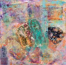 Janet Gunderson Original Collage Painting