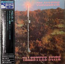 Colosseum-Valentyne Suite UK prog jazz Japanese mini lp Blu-Spec