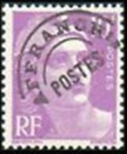 "FRANCE PREOBLITERE TIMBRE STAMP N° 102 "" MARIANNE 10F LILAS "" NEUF x TB"