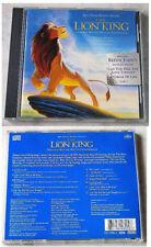 THE LION KING Original Broadway Cast Recording . 1997 Walt Disney CD