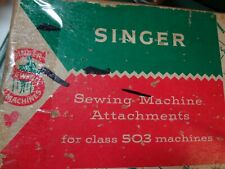 Vintage - Singer - Sewing Machine Attachments - #161745 for Class 503 Machines