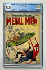 METAL MEN #3, DC Comics, CGC 8.0, atomic explosion panel