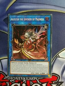 Aleister the Invoker of Madness SHVA-EN020 Secret Rare 1st Edition NM YuGiOh