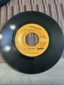 """VG Elvis Presley Edge Of Reality / If I Can Dream 7"""" 45RPM"""