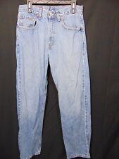 Vintage LEVIS 569 Men's Denim Blue Jeans 32 x 34 Loose Straight Fit Made USA