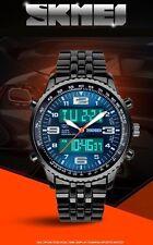 Men's 2016 marchio di Lusso Braccialetto militare Sport Orologio digitale LED quarzo data