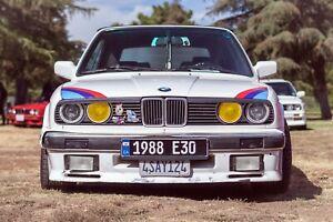 BMW 3 Series E30 Eyelids Eyebrows Headlight Covers