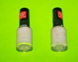 Revlon Colorstay Long Wear nail Enamel Nail polish Cool Beige Lot Of 2 NEW