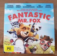 Fantastic Mr. Fox (DVD, 2010) George Clooney, Meryl Streep, Bill Murray