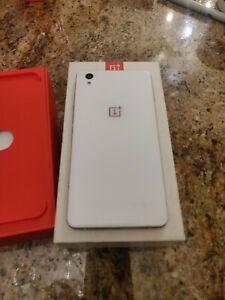 OnePlus X - 16GB - Ceramic (Unlocked) Smartphone, Excellent condition
