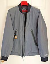 NEW Champion Men's M Gray Winter Bomber Jacket Water Wind Resistant Zip Front