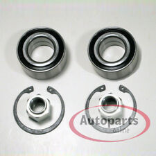 Peugeot 207 - 2 Piece Wheel Bearing Set With ABS Sensor Ring For Front Axle