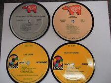 Cream/Eric Clapton (Atco & RSO) - Record Album Coaster Set