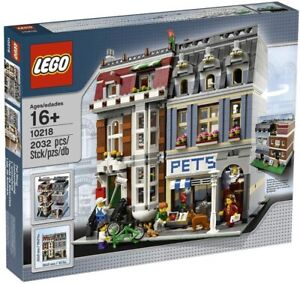 LEGO 10218 Creator Expert Zoohandlung Pet Shop Modular Buildings (NEU OVP)