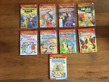 Lot Of 9 Magic School Bus Children's Books Level 2 and 3 Chapter - SCHOLASTIC