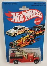 Hot Wheels Old Number 5 No. 1695 Red