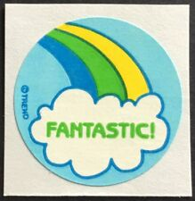 Vintage 80s Matte Trend Scratch & Sniff Sticker - Rainbow - Mint!!