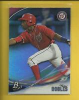 Victor Robles RC  2016 Bowman Platinum Top Prospects Rookie Card # TP-VR Nats