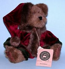 "Boyds Bears plush 10 in. jointed bear ""Mr. Baybeary "" New Retired, # 917314"