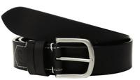 Calvin Klein 38 mm Flat Strap Belt - Black