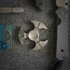 VOLLSION VS1.0 Titanium Knuckle Fidget Hand Spinner with Tritium EDC Toy Torqbar