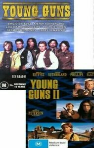Young Guns 1 & 2  - New and Sealed DVD