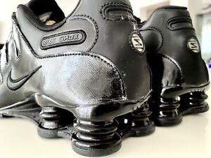 Nike Shox NZ ALL BLACK 2011 SCHWARZ EUR 43 US 9,5 UK 8,5 NEU UNGETRAGEN ECHT RAR