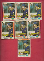 7 X  1981-82 OPC # 30 SABRES GILBERT PERREAULT  CARD